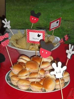 Para poner en la comida fiestas infantiles ideas y for Decoracion de comida