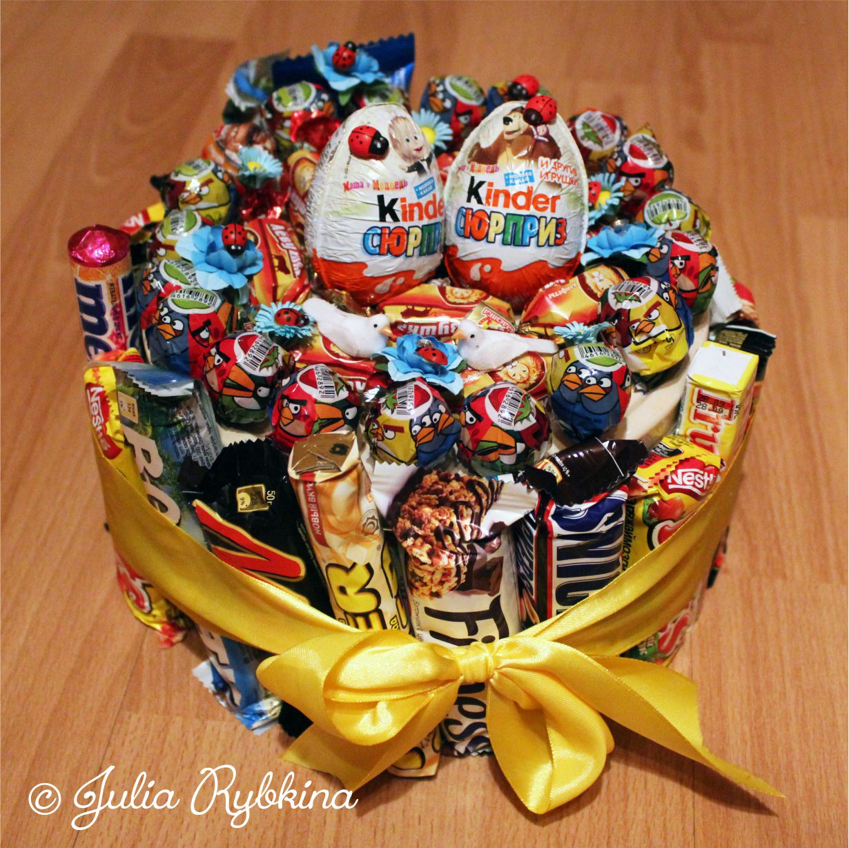 Подарки из сладкого