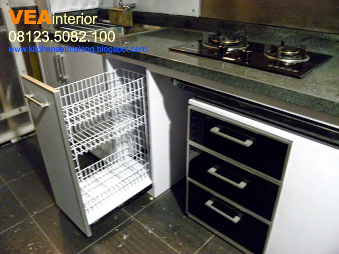 Kitchen set minimalis malang for Beli kitchen set jadi