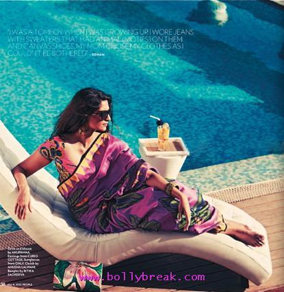 , Sonam Kapoor People Magazine Hot Scans