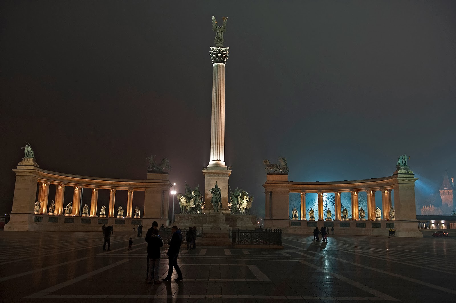 Budapest, Hungary, Heroes' Square