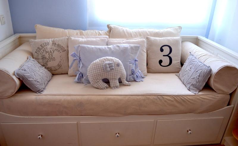 El desaf o habitaciones infantiles na lua dulce - Cojines para habitacion de bebe ...