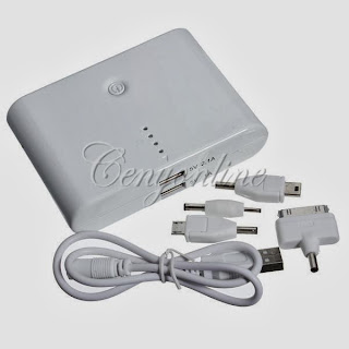 12000mAh External Portable Battery Charger Power Bank for iPhone 5 Sumsang i Pad