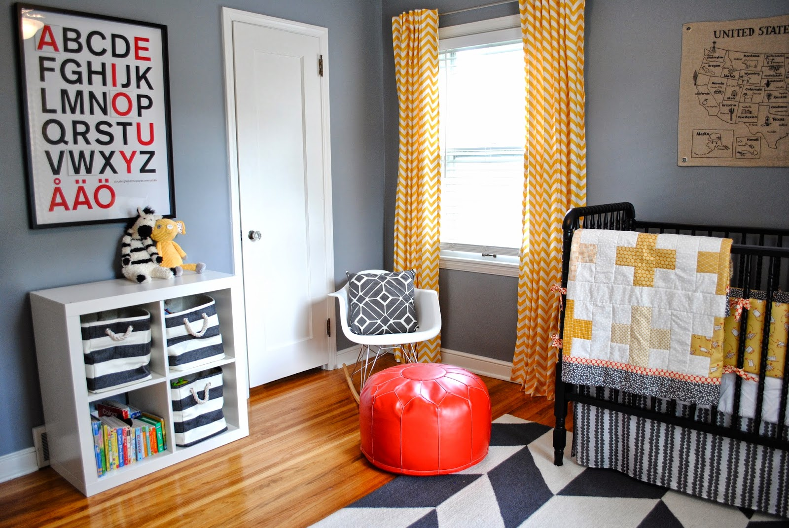 Breakfast at Gigi's: Liam's Nursery Featured on Apartment Therapy