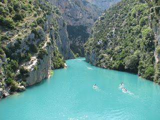 Gorges du Vedon River