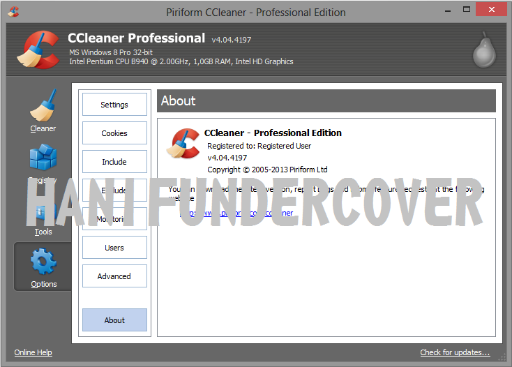 Download CCleaner - ccleanernlsoftoniccom
