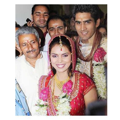 Vijender Singh Marriage BOLLYWOOD AND HOLLYWOO...