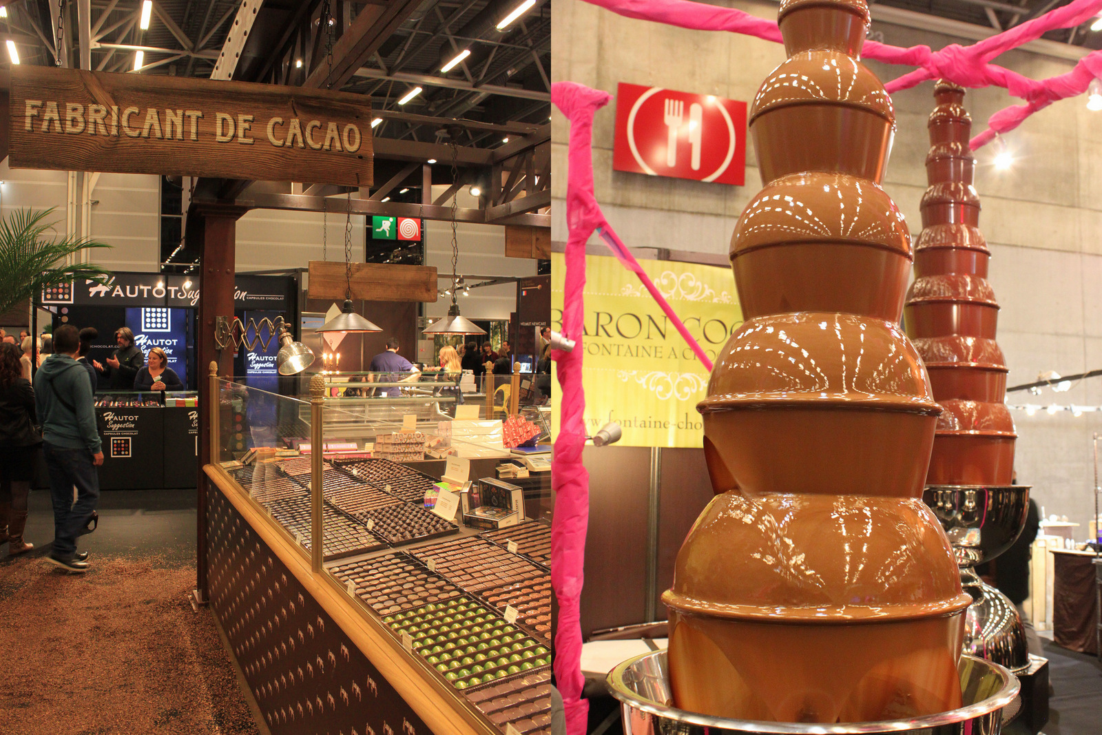 Salon du chocolat Paris 2015