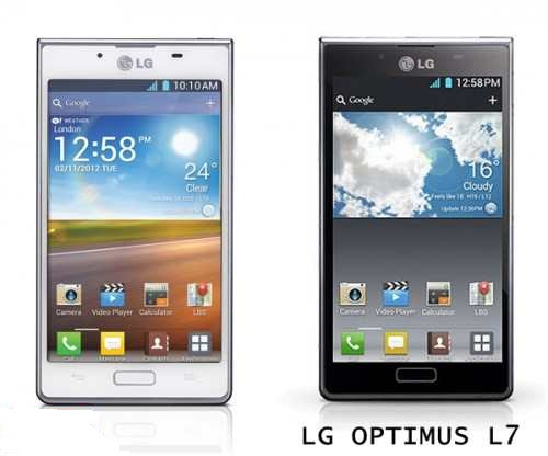 LG Optimus L7 smartphone