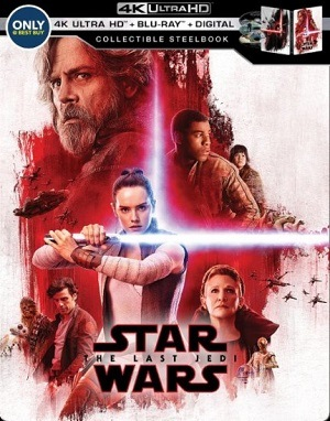 Star Wars - Os Últimos Jedi - 4K ULTRA HD Filmes Torrent Download capa