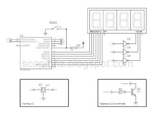ssd speedometer circuit