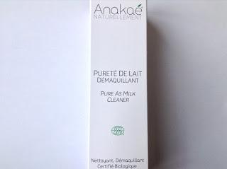 Pureté de lait démaquillant bio  - Anakaé nettoyant, démaquillant certifié bio au Lait d'Anesse