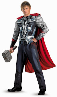 The Avengers Thor Muscle Adult Costume
