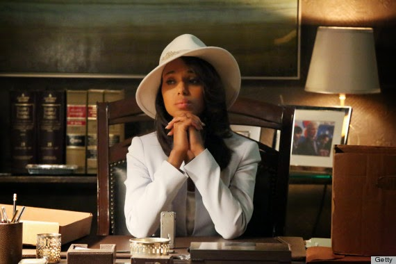 Olivia Pope Scandal white hat