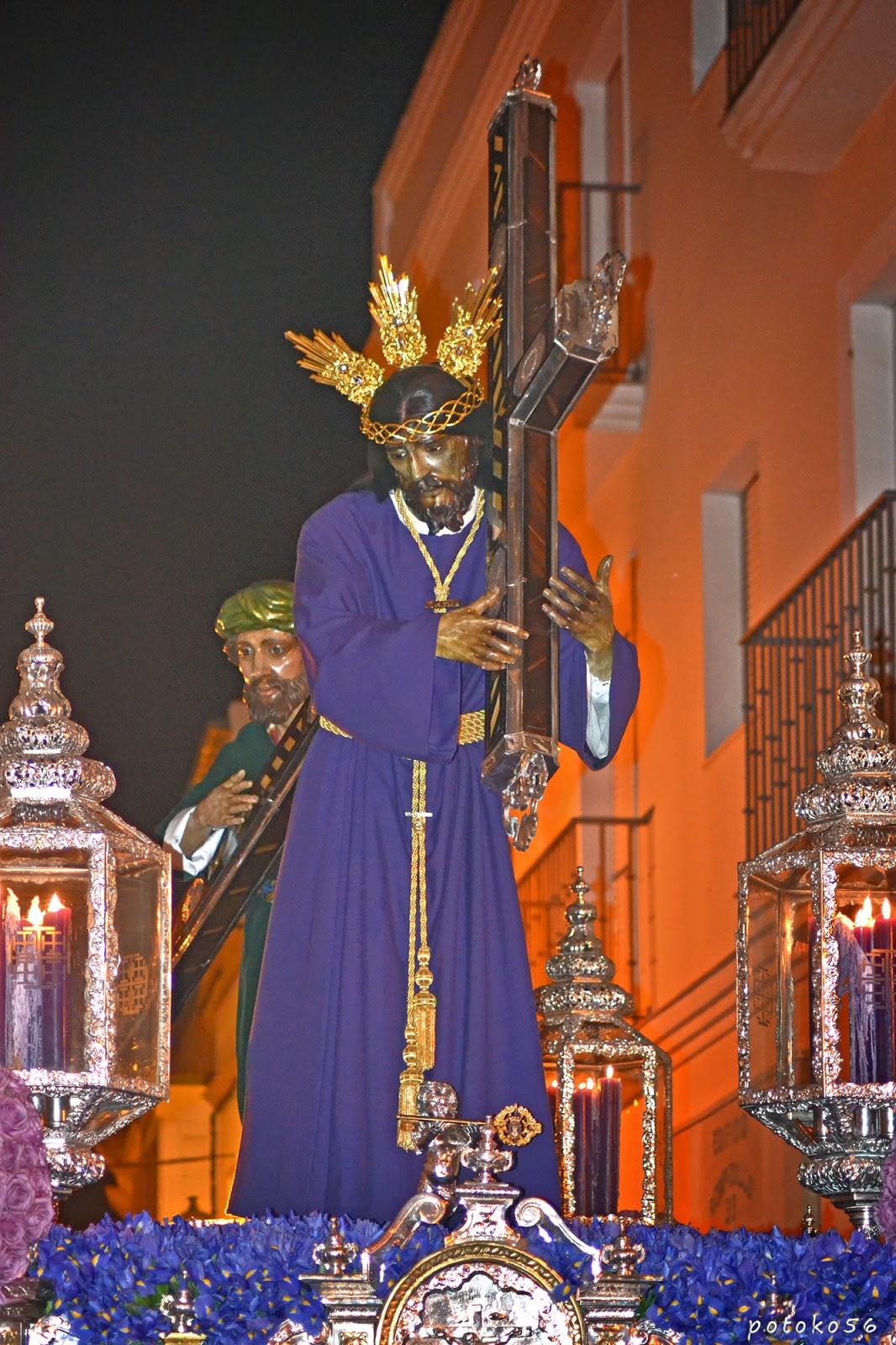 El Nazareno y Simón Cirinéo Semana Santa Rota