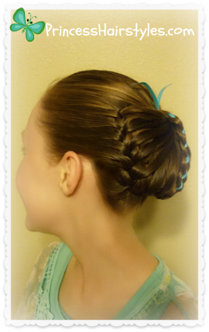 Braided butterfly video tutorial
