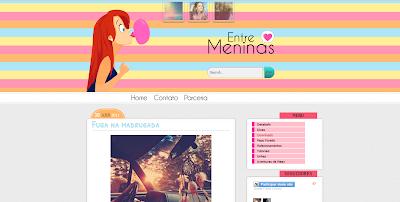 template personalizado entre meninas sweet templates