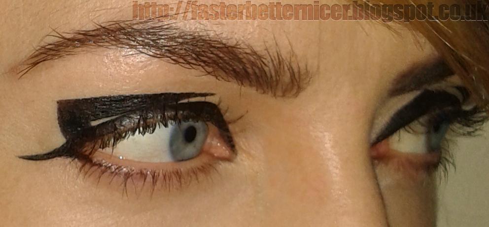 Agnesblog Geometric Makeup