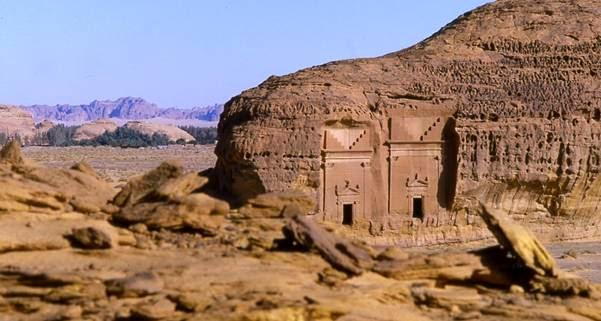 Mengunjungi 'Kota Hantu' Kaum Tsamud di Al-'Ula