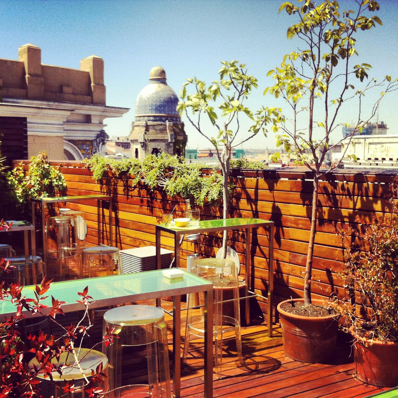 Las 12 1 mejores terrazas de madrid gastrotxusan - Terrazas aticos madrid ...
