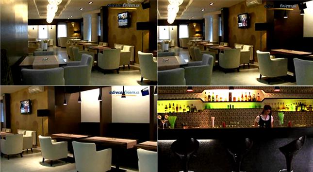 The Golden Club Restaurant & Dance images. Design by Somerset Harris