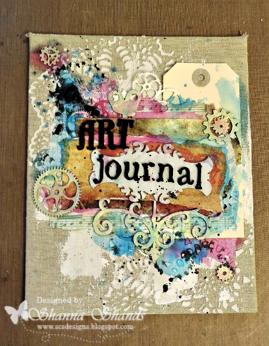 Art Journal Cover Desi...