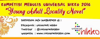 Lomba Menulis Novel Young Adult Locality Novel