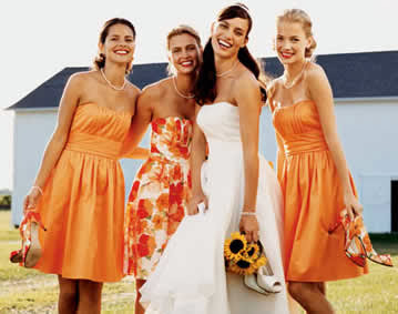 Davids Bridal Bridesmaid Dresses orangebridal