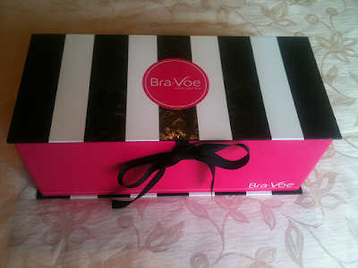 Bra-Voe Bra Storage Device Beautifully Packaged