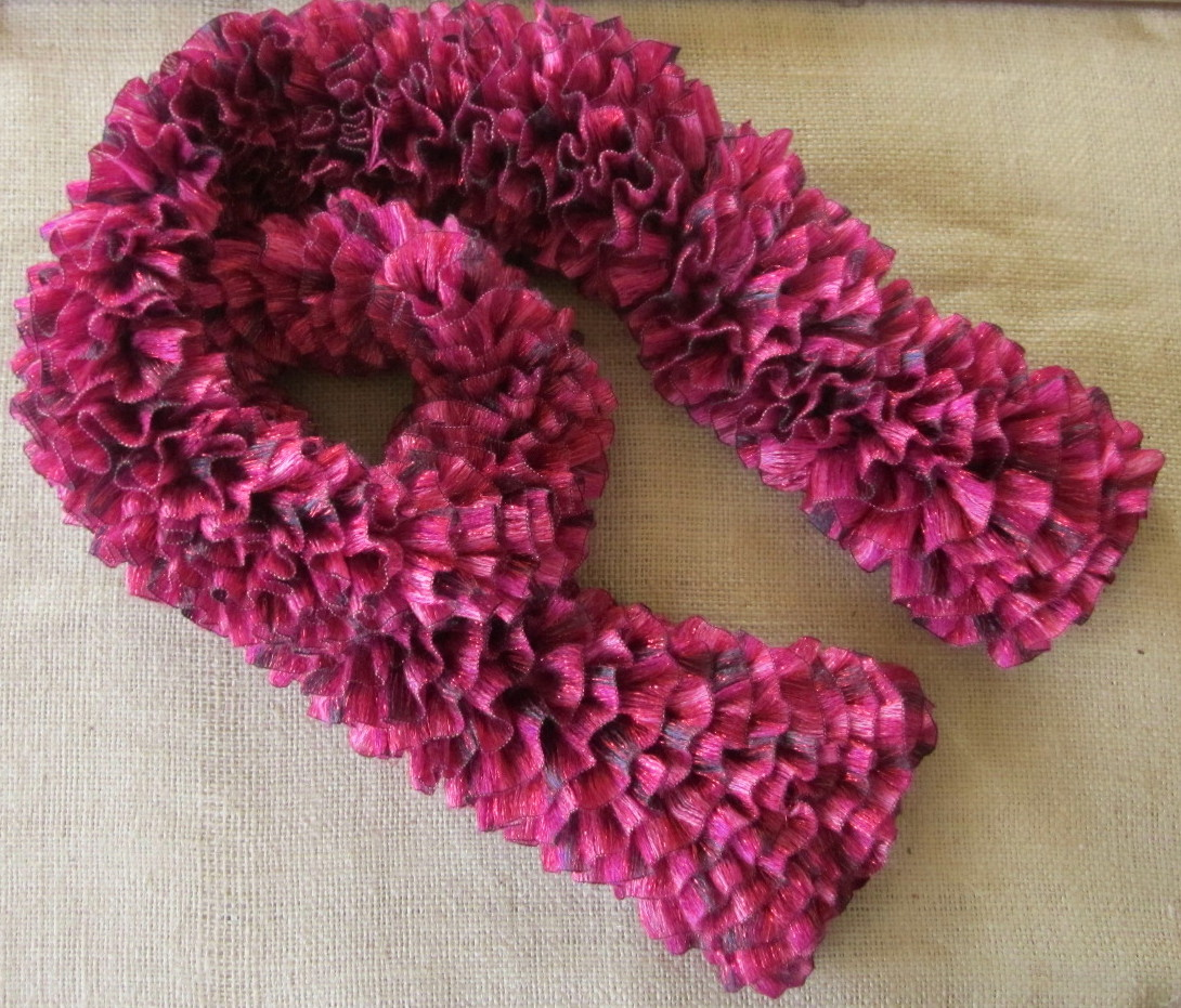 Wendylynns Paper Whims: Red Heart Boutique Ribbons Yarn Scarf
