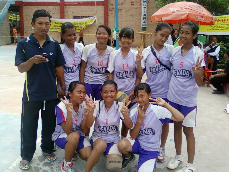 team volly ball SMPN 1 Parungkuda