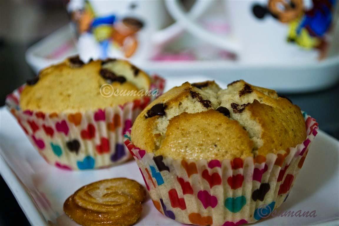 easy muffins recipe with milk egg vanilla