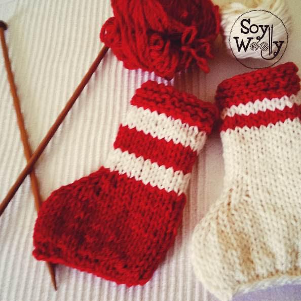 Bota de Navidad a 2 Agujas (ft. Soy Woolly)