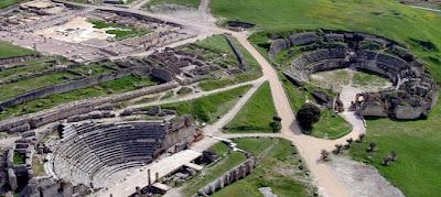 Excursión cultural - Vista aérea de Segobriga