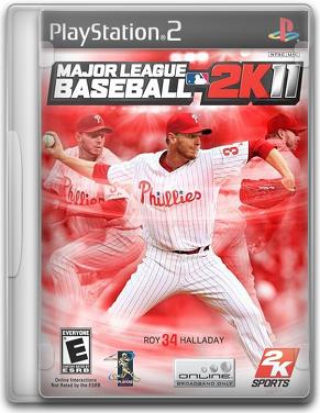 Capa Major League Baseball 2K11   PS2
