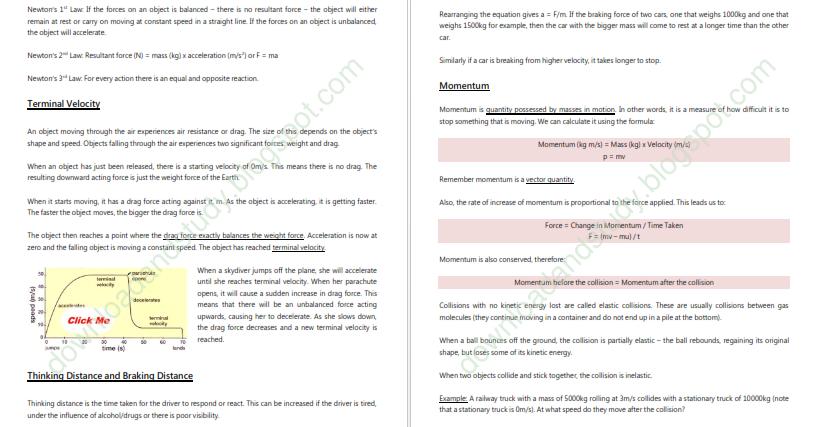 grade 10 physics test pdf