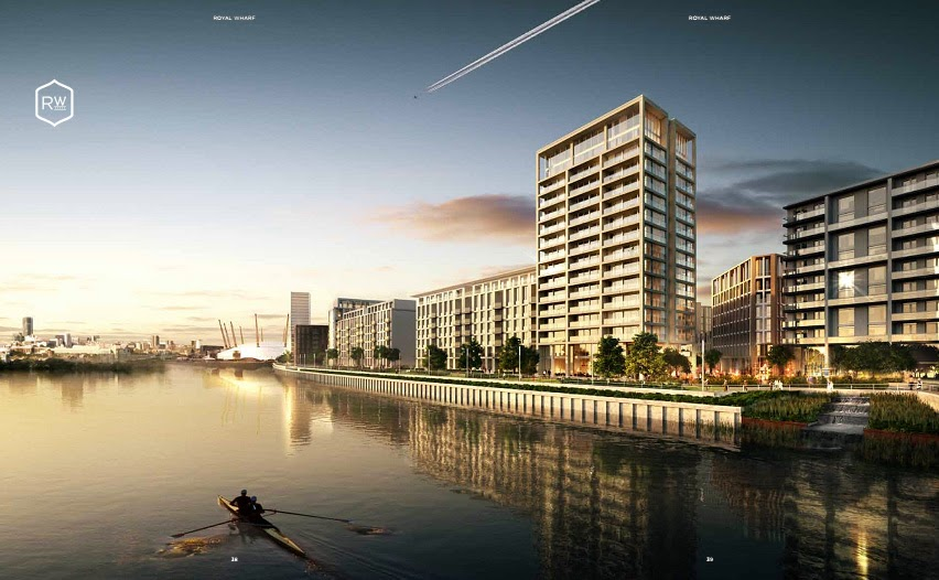 ROYAL WHARF A NEW WATERFRONT COMMUNITY FOR LONDON!