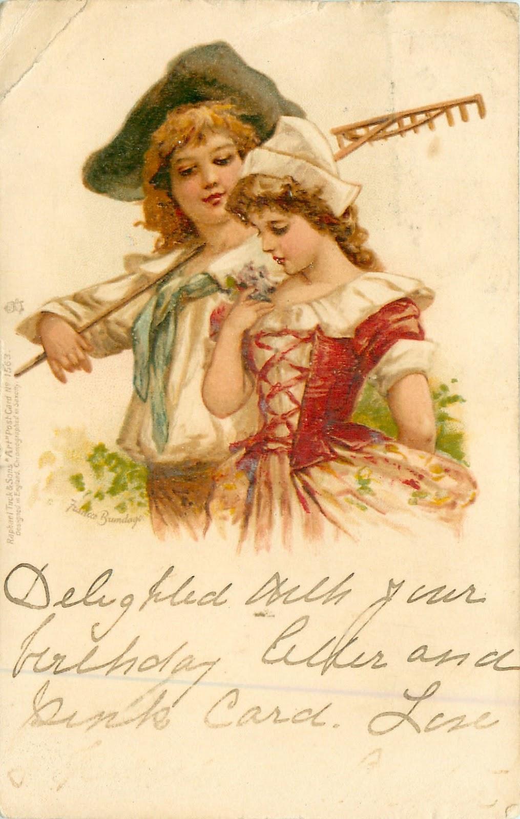 О старинные открытки 49