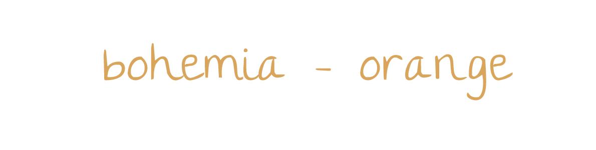 bohemia orange