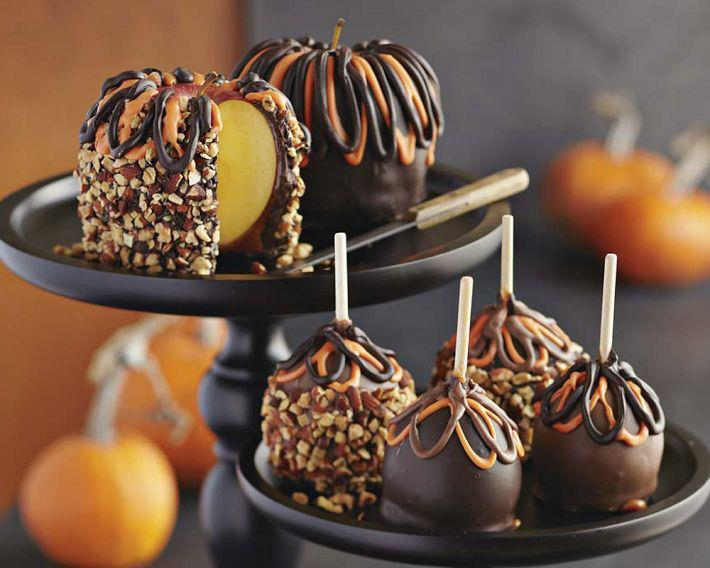 The beehive cottage halloween fun with williams sonoma for Caramel apple recipes for halloween