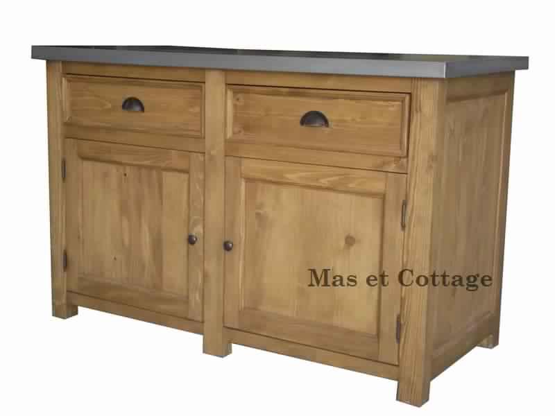 meuble de cuisine en bois brut  meubles de cuisine