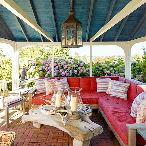 Top Coastal Summer Porches Decor Ideas