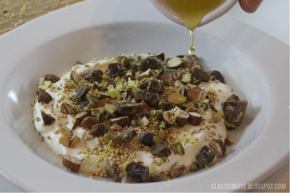 classic noise: mmmMonday: Yogurt with Toasted Quinoa, Nuts ...