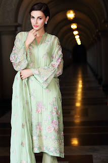 Bareeze Summer Chiffon Dresses for Women 2015