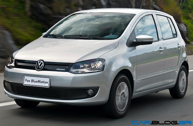VW Fox Bluemotion 2013