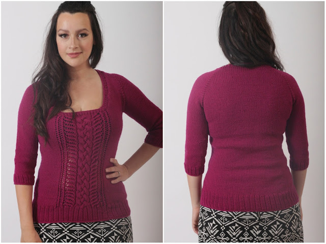 Julia Bobbin - 'Julissa' by Vanessa Smith in Millamia Merino Wool Aran