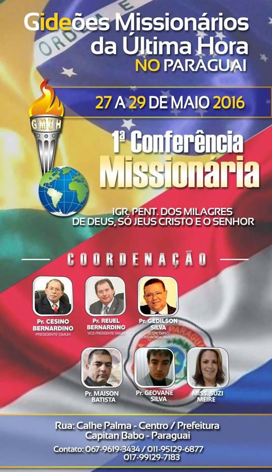 GRANDE CONFERÊNCIA MISSIONÁRIA