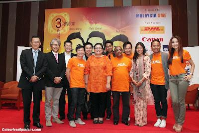 David Ng, Melvyn Ho, Tan Sek Kee, Wayne Lim,  Douglas Lim,  Adibah Noor, Ash Nair,  Indi Nadarajah, Alvin Wong, Ruzana Ibrahim, Baki Zainal & Chelsia Ng SME TV Series