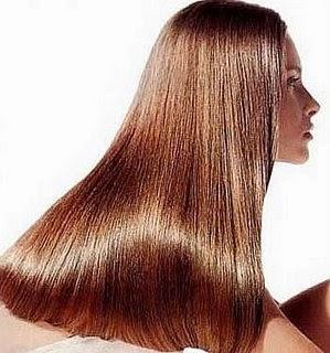 Truco de belleza para pelo brillante