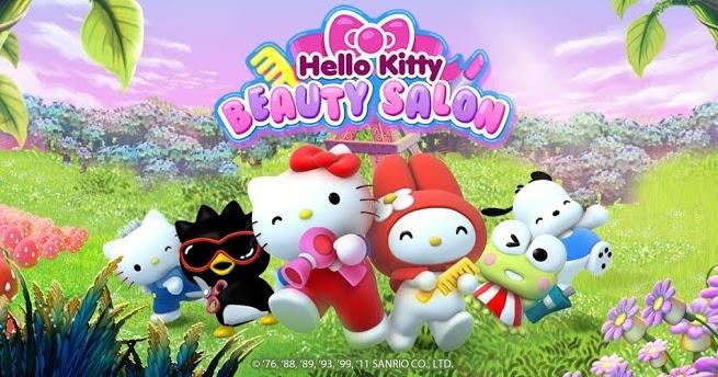 100 celulares hello kitty salon de belleza juego para celulares con android for Juegos de hello kitty jardin